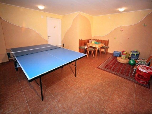 Tischtennis in der Pension Auer in Lofer