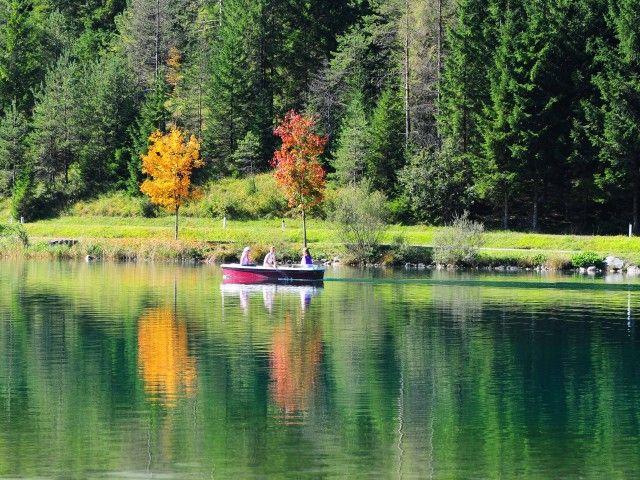 Bootsfahrt am Pillersee