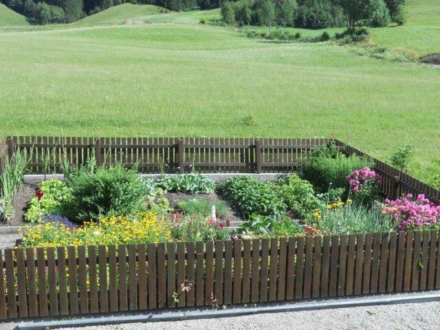 Unser Gemüse- und Kräutergarten