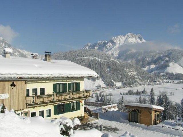Ferienhof Obertenn Winter Hochfilzen