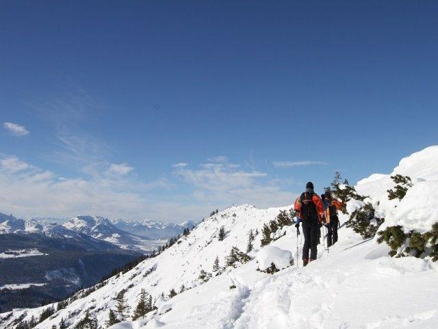 Winterurlaub in Unken