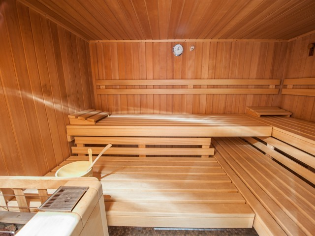 Wellnessbereich / Sauna im Tirolerherz