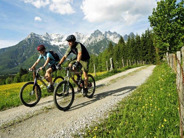 Mountainbiken von St. Ulrich aus