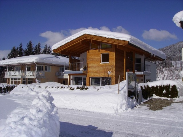 schneereiche Winter Appartement Christine Tirol