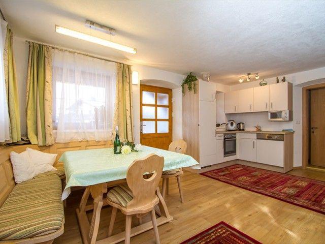 Küche-Gerti´s Ferienwohnungen in Hochfilzen Tirol