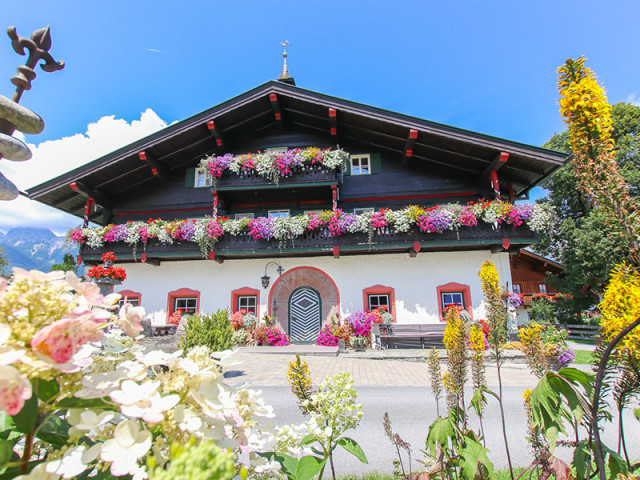 Bauernhofurlaub in Saalfelden