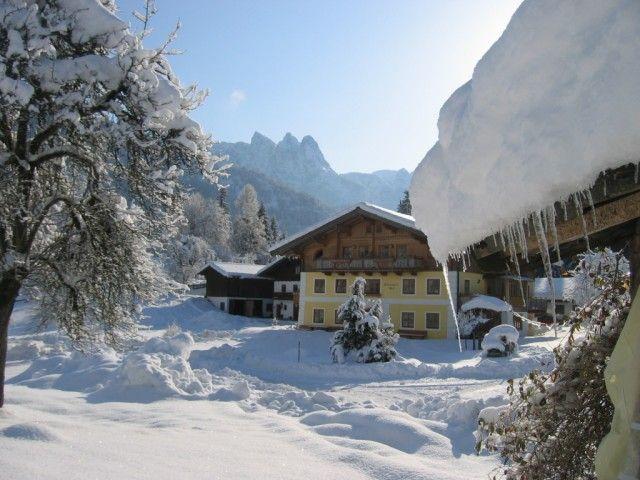 Winter auf dem Götzbauernhof