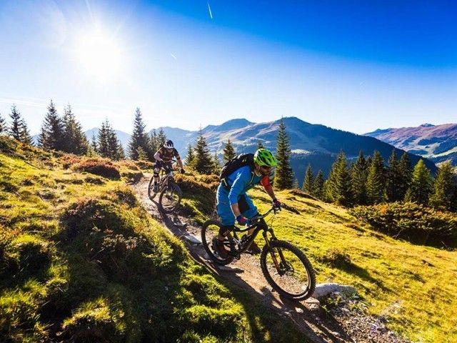 Biken in Hinterglemm