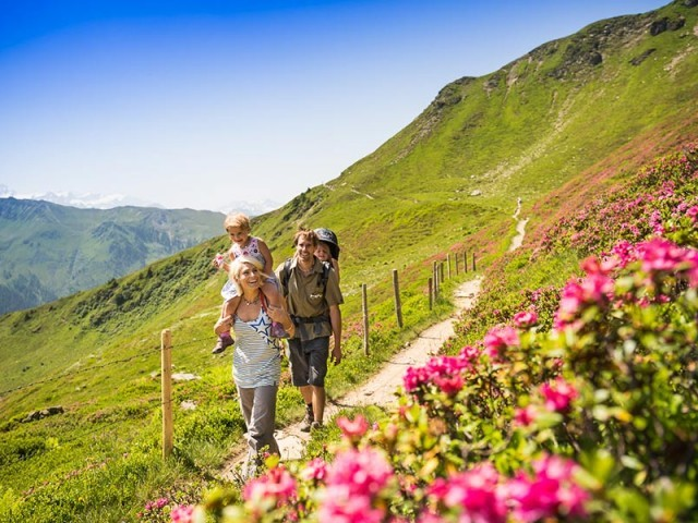 Wanderurlaub in Hinterglemm