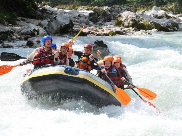 Rafting in Lofer