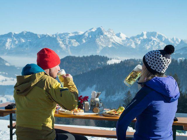 Hüttengaudi im Winterurlaub in Lofer