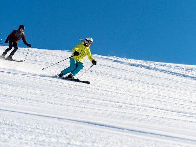 Skifahren auf der Skialm Lofer