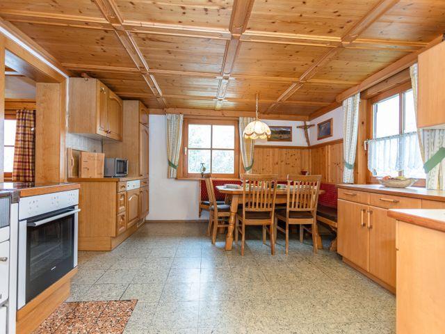 Küche Bergblick