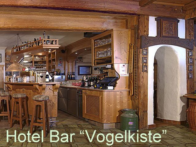 Hotel Willms, Hotel Bar, Vogelkiste