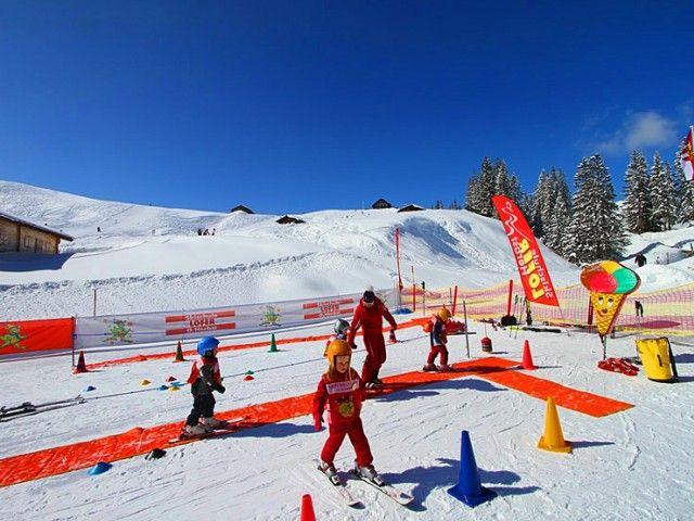 Kinderland: Skischule Lofer Herbst