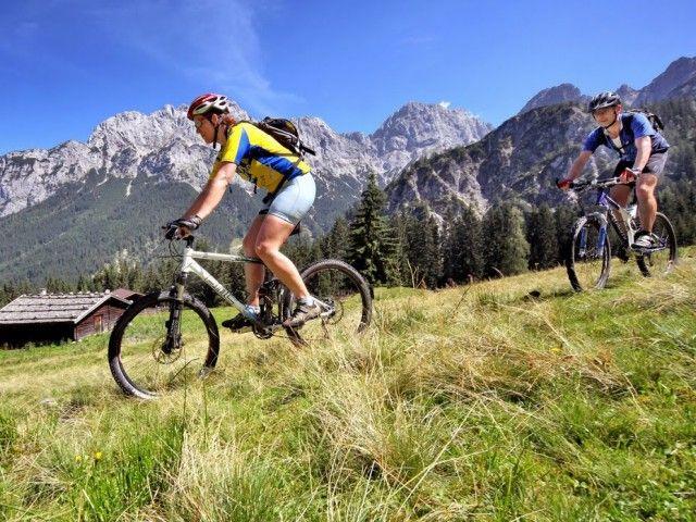 Gut ausgeschilderte Radwege und Bikestrecken