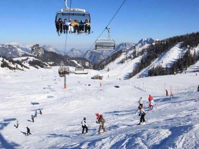 Skifahren Lofer