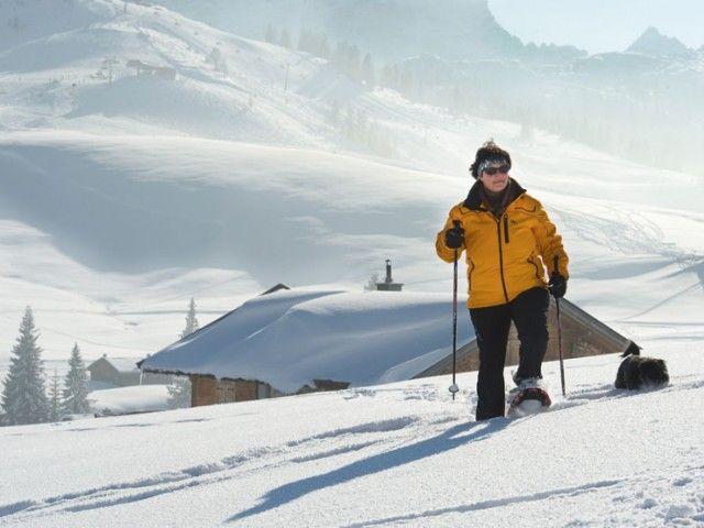 Schneeschuhwandern in Weissbach