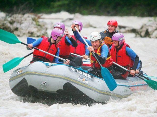 Rafting im Saalachtal