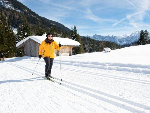 Langlaufen in Weißbach bei Lofer