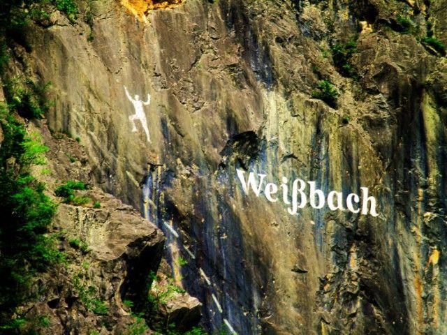 Klettern in Weißbach bei Lofer
