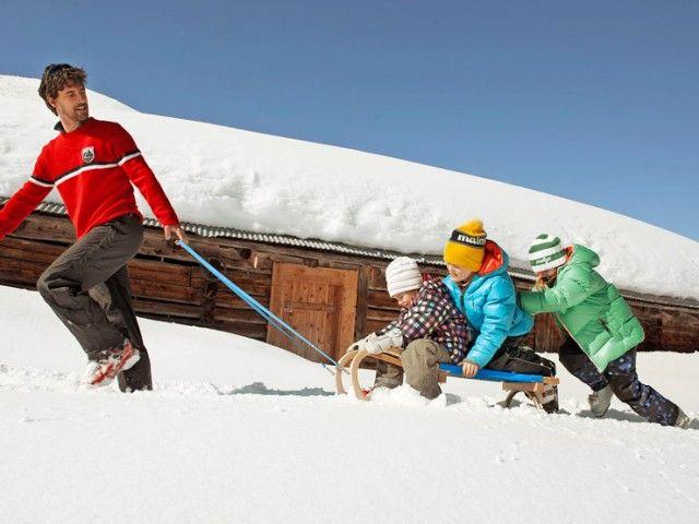 Winterurlaub Saalfelden Rodeln