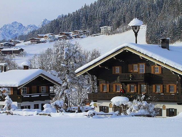 Winter Bauernhof Ferienwohnung Pillerseetal