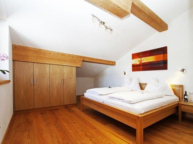 Ferienwohnung Fieberbrunn Doppelbettzimmer