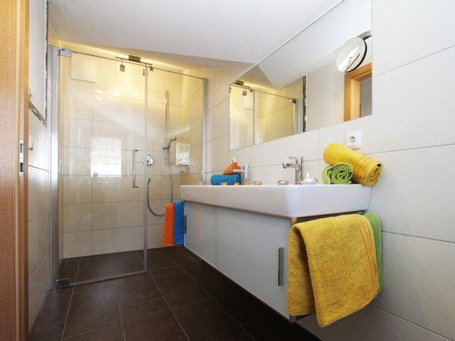 Ferienwohnung Fieberbrunn Badezimmer
