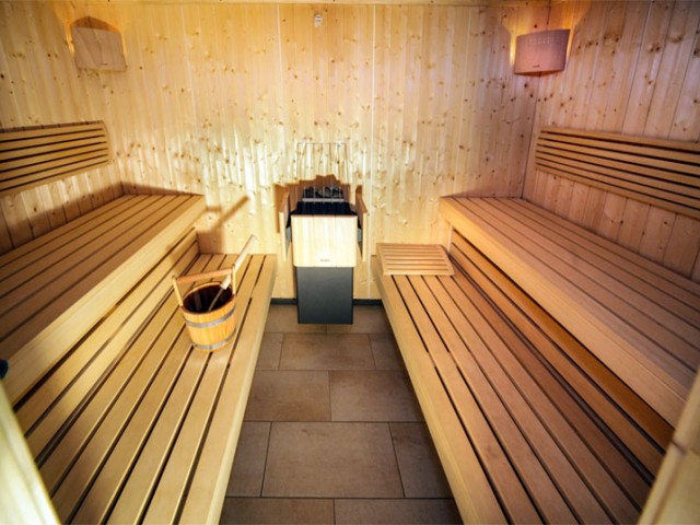 Sauna mit Hallenbad