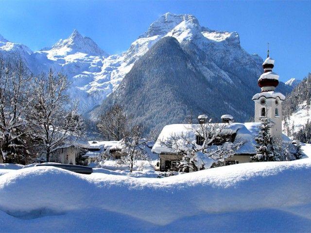 Urlaubsort Lofer im Winter